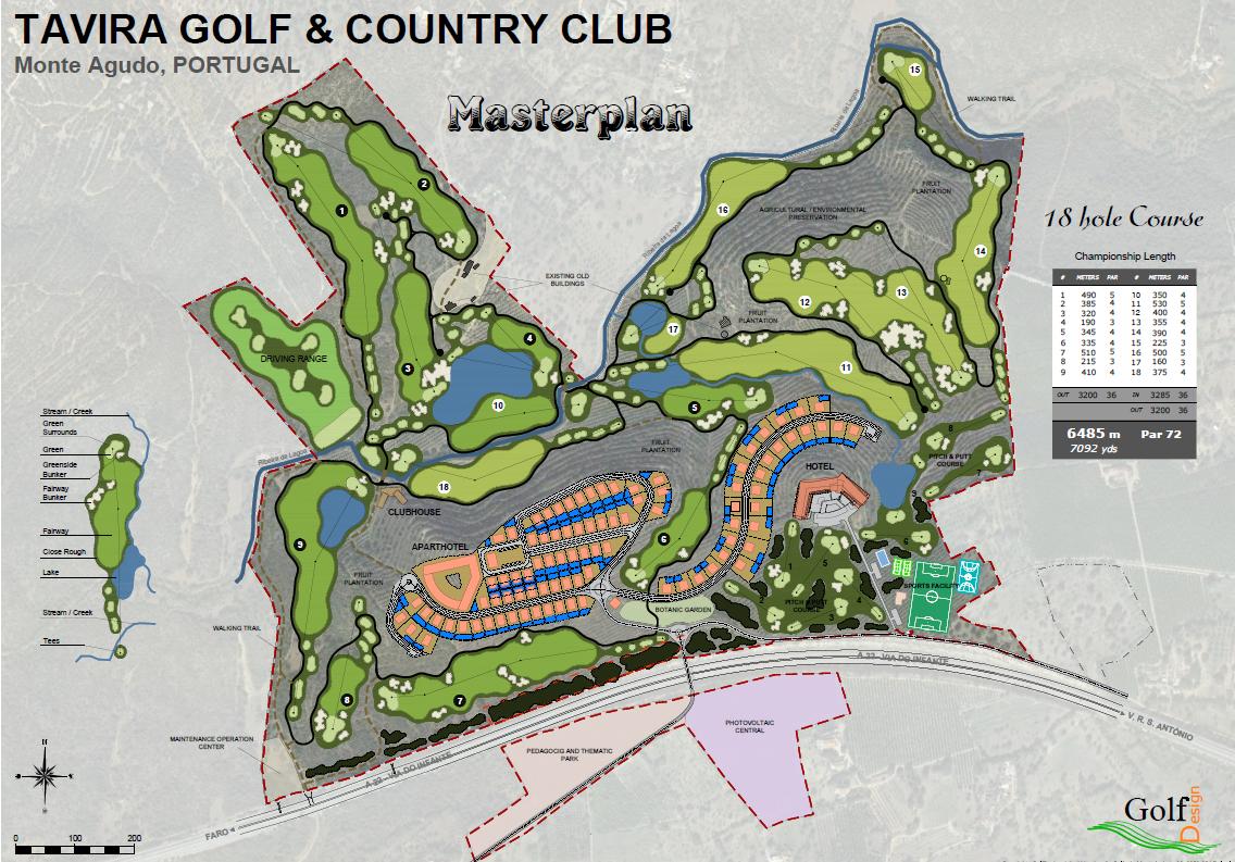 Tavira Golf & Country Club – Resort de luxo